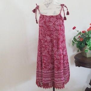 Old Navy Cotton Tassel Dress